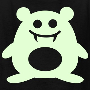 Happy Vampire Hamster - Glow in the Dark - Kids' T-Shirt