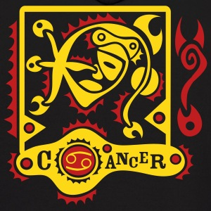 Black Cancer-Zodiac-Sign Sweatshirt - Men's Hoodie