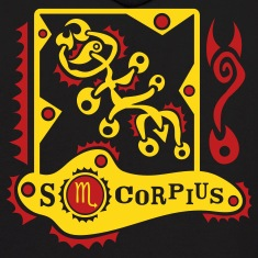 Black Scorpius-Scorpion-Zodiac-Sign Sweatshirt