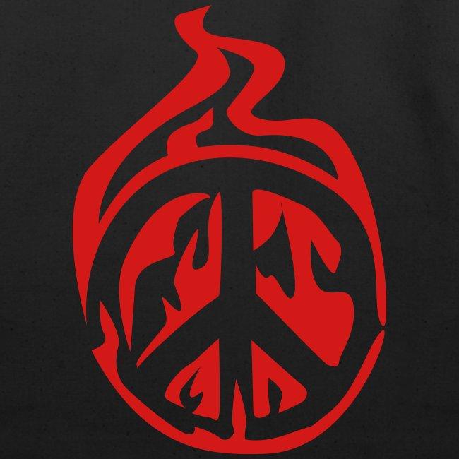 peace sign bag