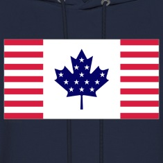 Navy canada usa Hoodies