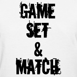 GAME SET & MATCH / KIWI - Women's T-Shirt