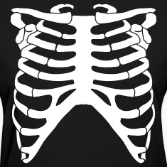 Rib Cage Front AND Back!!! (white flex)