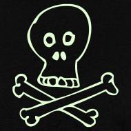 Design ~ Glow Skull - Men's Lightweight