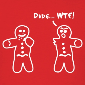 Red Gingerbread Cannibalism Men - Men's T-Shirt