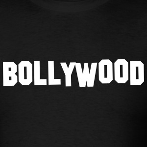 Black Bollywood Hills Men - Men's T-Shirt