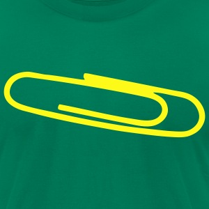 Paperclip - Men's T-Shirt by American Apparel