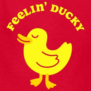 Red Feelin' Ducky Kids & Baby - Kids' T-Shirt