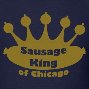 Sausage King Metallic Gold - Men's T-Shirt