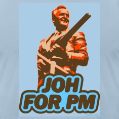 Light blue Joh For PM! Men