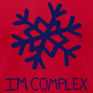 I'm Complex - Men's T-Shirt by American Apparel