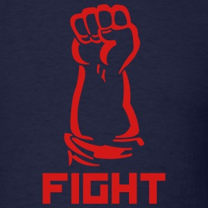 fighting fist - Men's T-Shirt