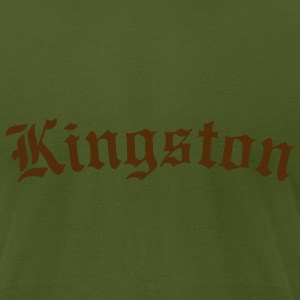 Olive kingston Men - Men's T-Shirt by American Apparel
