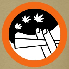 Khaki roadsign spliff Men