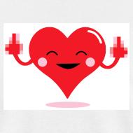 Design ~ HEART FLICKER T-Shirt - Anti-Valentine Shirt