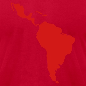 Bright green Latin America - South America Men - Men's T-Shirt by American Apparel