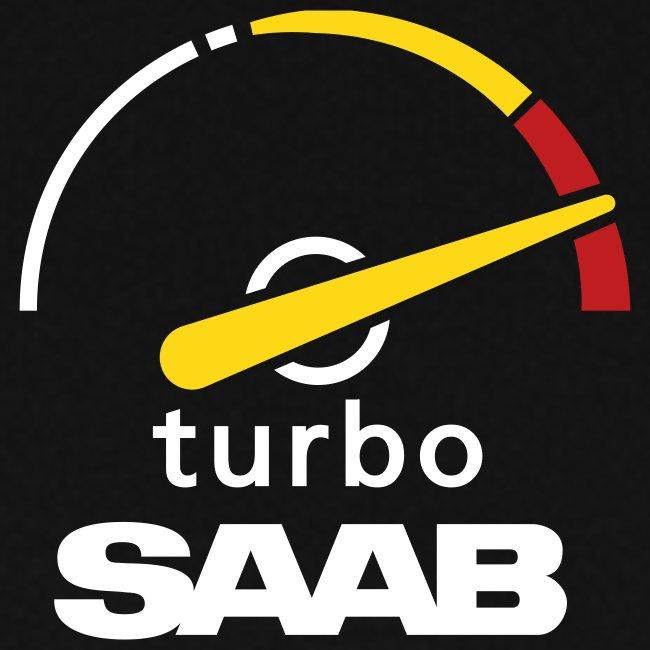 Saab Turbo Gauge for woman with hood