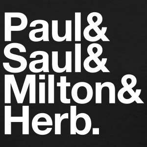 Black Paul & Saul & Milton & Herb Women - Women's T-Shirt