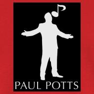Design ~ Paul Potts silhouette T-Shirt