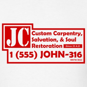 White JC Salvation Co. Men - Men's T-Shirt