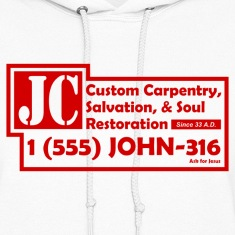 White JC Salvation Co. Sweatshirt