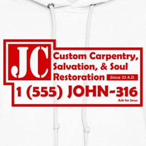 White JC Salvation Co. Sweatshirt - Women's Hoodie