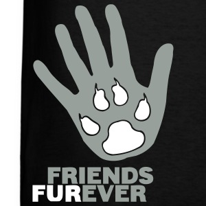 Black Friends Furever Men - Men's T-Shirt