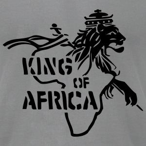 Slate King Of Africa Men - Men's T-Shirt by American Apparel