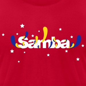 Samba Music - Men's T-Shirt by American Apparel
