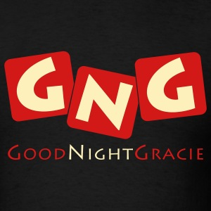 Good Night Gracie Black 2-color T-Shirt - Men's T-Shirt