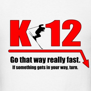 K-12 Light - Men's T-Shirt