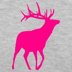 deer - Women's V-Neck T-Shirt