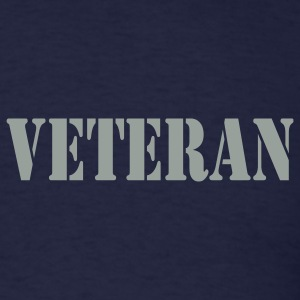 Navy Veteran Men - Men's T-Shirt