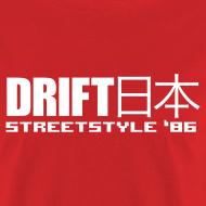 Design ~ Drift Japan StreetStyle '86 Red T-Shirt