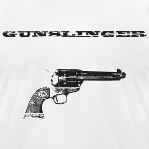 Gunslinger 1 - Men's T-Shirt by American Apparel