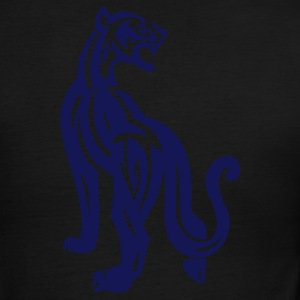 blue,panther - Men's Ringer T-Shirt