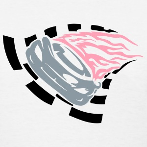 Pink Flamed Racer - Women's T-Shirt