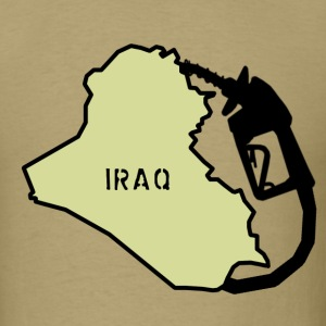 Iraq Exploited - Men's T-Shirt