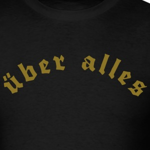 Black uber alles Men - Men's T-Shirt