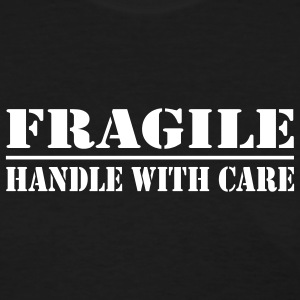 Black fragile Women - Women's T-Shirt