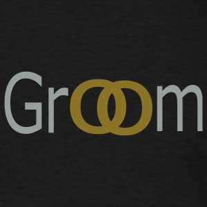 Black groom Men - Men's T-Shirt