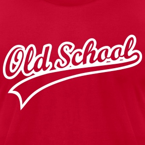 ::OLD SCHOOL:: - Men's T-Shirt by American Apparel