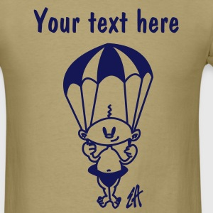 baby parachute - Men's T-Shirt