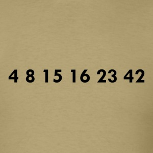 Numbers T-Shirt - Men's T-Shirt