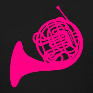 Black French Horn Women's T-Shirts - Women's T-Shirt