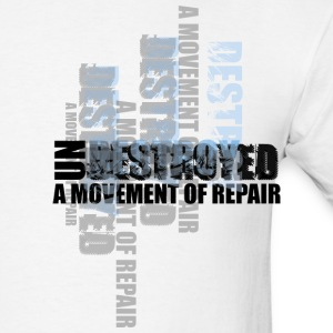 White Undestroyed Men - Men's T-Shirt