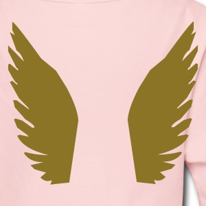 Light pink Angel Kids & Baby - Long Sleeve Baby Bodysuit