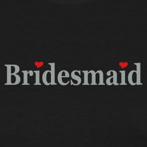 Black bridesmaid Women - Women's T-Shirt