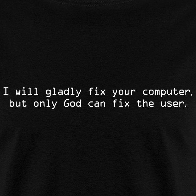 God fixes Users