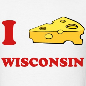 Wisconsin - Light - Men's T-Shirt